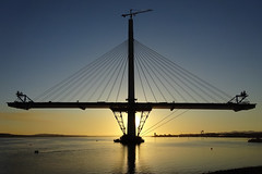 Queensferry Crossing North Tower at Sunset 20-04-2016 (The McCorristons) Tags: sunset forth queensferry riverforth northtower queensferrycrossing