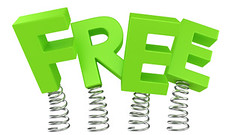 FREE (shazzyc13) Tags: white sign promotion word freedom design marketing 3d spring jumping commerce symbol render text letters free nobody offer business giveaway gratis helix shape consumerism rendering unstable flexibility flexible threedimensional fluctuation freeofcharge
