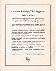 ASCE Code of Ethics (Olton Hall) Tags: ethics asce