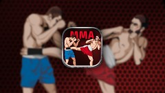 Illustration for the MMA Crossfit School app (Monich Alexander) Tags: blue school red man hot men apple sport illustration feast fight hit blood fighter ipod russia battle icon application boxer boxing russian fitness app iphone ipad mma crossfit monich appstore