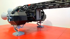 "LEGO Eagle ""Stealth"" Transporter (mattingly3900) Tags: lego eagle space 1999 spaceship cosmos transporter alphabase"