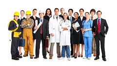 Workers (chrisvenable) Tags: people woman white canada man smile smiling businessman work hospital happy person team workers uniform background group working young diversity meeting professional medical business suit architect staff health mature doctor medicine worker nurse job healthcare engineer isolated builder teamwork isolate throng occupation specialist cellulair architectbackgroundbuilderbusinessbusinessmancellulair