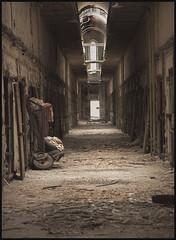 "Eastern State Penitentiary #5"" Philadelphia, Pennsylvania, USA (hamsiksa) Tags: model pennsylvania solitary prisons humane jails gaols reform confinement penal penitentiaries penalinstitutions"