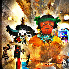 Have no fear , Kachinas are here (Dom Guillochon) Tags: life spirits beings humans hopi americanindians supernatural koyaanisqatsi museumofman kachinas thiscrazylife