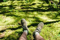 Moss is Life (JeffAmantea) Tags: wild summer lake canada green nature forest outside moss nikon shoes shadows bc legs outdoor hiking walk nelson columbia hike adventure foliage british shorts wilderness kootenays kootenay d90