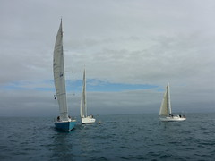 Finistere, Airborn and Morning Tide (Figgles1) Tags: club sailboat race day sailing yacht iii racing yachts sailboats fremantle anzac airborn fsc anzacday finistere 2016 pipedream morningtide pipedreamiii fremantlesailingclub p1020568