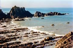 Hartland Point, Devon, 1992 (Richard G. Hilsden) Tags: uk england cornwall britain g devon 1992 hilsden richardghilsden