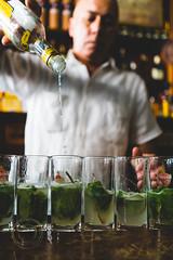Pouring Rum (Simone Della Fornace) Tags: travel summer tourism glass closeup person drink sony havana cuba beverage mint indoor tourist cocktail mojito cuban pouring alchool touristicdestination a7rii