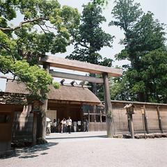 R1-05 -  Ise Shrine (redefined0307) Tags: travel heritage japan shrine asia ise  mie   iseshrine bronicas2 zenzabronica kodakportra160