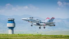 Marine Hornet takeoff (jhooten1973) Tags: aircraft hornet warbirds flyin jeffco jaa generalaviation f18c marineaviation rockymountainmetropolitanairport modernmilitary jeffcoaviatationassociatation