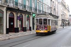 Rua da Prata (ernstkers) Tags: 562 bonde carris ccfl ccfl562 lisboa portugal streetcar tram tramvia tranvia trolley elctrico strasenbahn sprvagn