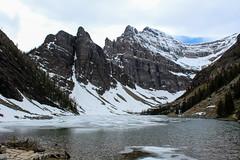 Lake Agnes (myphotothrowaway) Tags: mountain lake mountains hiking lakes glacier louise alberta rivers backcountry banff canmore