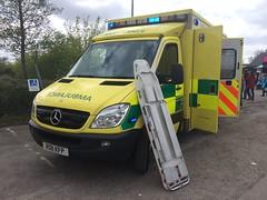 SECamb Emergency Ambulance (slinkierbus268) Tags: mercedes coast south ambulance east trust service emergency brooklands bluelights sprinter secamb