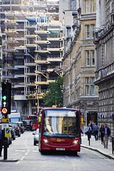 London General SE231 YY64TXR Route 100 London Wall (TfLbuses) Tags: red london public buses ahead for general go transport 200 alexander dennis enviro tfl