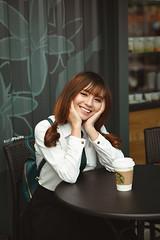 E24 (erik_bui_89) Tags: woman cute student nikon human beautifull emart