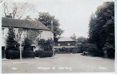 Windsor Street, Chertsey, around 1930 (mgjefferies) Tags: england thames postcard 1930 chertsey fwjefferies