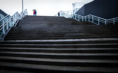 Trondheim, June 21, 2016 (Ulf Bodin) Tags: street summer urban norway stairs norge outdoor no streetphotography trondheim srtrndelag urbanlife urbanphotography trappa canonef35mmf14liiusm trondheims canoneos5dmarkiii