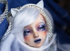 Artic mermaid (marlequeen) Tags: angel studio eyes bjd custom kana angelstudio marlequeen