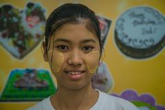 Girl at a bakery shop (ReinierVanOorsouw) Tags: reizen myanmar birma burma travelling travel travelstoke reiniervanoorsouw sony sonya7r sonya7rii a7rii asia asya azie yangon yangoon rangon rangoon