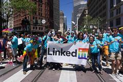 46th Annual San Francisco LGBT Pride Parade 2016 (davidyuweb) Tags: street lens happy san francisco market sony pride parade fisheye lgbt annual alpha sfist 2016 46th 7r a6000 luckysnapshot