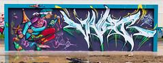 DEV-1723 (C_raph) Tags: urban art wall graffiti tag wallart spray urbanart mur wallpainting bombing spraycan urbain fresque artiste fatcap witters streetstyle streetpark grafff urbanpaint streetstylemural