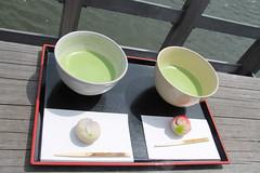macha and mochi (mrlenours) Tags: cake japan japanese tokyo tea  japon gateau