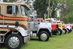 ATHS National 2016 (471) (RyanP77) Tags: aths national salem oregon log truck logger mack kenworth peterbilt frieghtliner internationaltruck semi pete rig diamon t 359 379 b model coe cabover trucking trucker rigs chrome show classy autocar bubblenose whitlog antique historical association