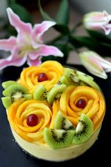 Mango Moussecake  (MelindaChan ^..^) Tags: cake fruit dessert sweet mel homemade mango melinda mousse moussecake chanmelmel melindachan