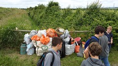 20160624_131649 (Keep Wales Tidy) Tags: bridge summer up coast marine severn clean litter learning monmouth welsh care baccalaureate caldicot rogiet welshcoastalpathcleanup
