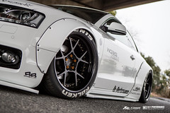 Liberty walk Audi A5 with Fi Exhaust (Fi Exhaust) Tags: audi a5 liberty walk libertywalk lb performance frequency intelligent exhaust fiexhaust wide body white low