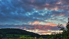 Artwork by Nature (Matthi900) Tags: evening sky clouds nature light colors