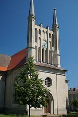 Schinkelkirche Joachimsthal (steffenz) Tags: germany deutschland lenstagged sony sigma brandenburg 30mm 2016 nex sigma30mm joachimsthal steffenzahn sigma30mmf28 nex6 sigma30mmf28dn sigma30mm28exdn