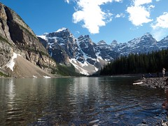 Beautiful day at the lake #olympusEM5 #olympusOMD #olympus #explorealberta #lakelouise #banff (Derman01) Tags: olympus banff lakelouise explorealberta olympusomd olympusem5