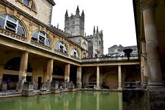 Roman Baths, Bath (Glenn Pye) Tags: architecture nikon bath roman historical romanbaths bathabbey abbeys d7200 nikond7200