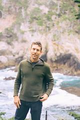 Lobos (CarbonNYC [in SF!]) Tags: portrait me water pointlobos takenbymom
