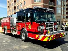 Franklin Park lastest fire apparatus. (Chicago Rail Head) Tags: firetruck spartan franklinparkil pumper fireapparatus