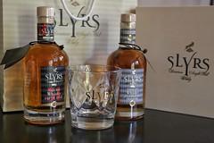 A little treat.... (joseph_donnelly) Tags: glass bottles whiskey whisky local distillery schliersee singlemalt bavarian malt slyrs