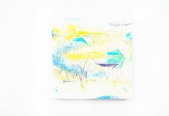 Kokoroiro (2016) oil on canvas, coloured pencil  180x180mm (mayakonakamura) Tags: framed canvas oil watermark nakamura mayako mayakonakamura 180x180mm akihironakamura