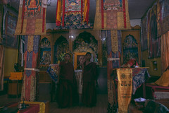 (Alek S.) Tags: nepal tashiling tibetan refugeecamp pokhara monastery bud buddhist buddhism monk interior