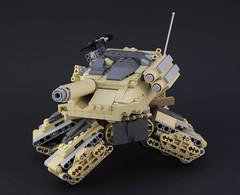 M1ATB Range (DeadGlitch71) Tags: modern walking us tank lego transformer military walker weapon future cannon rockets custom abrams armored mech treads m240 m1abrams futureistic mechatank