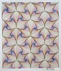 20160414a (regolo54) Tags: art ink circle pattern handmade geometry mandala structure symmetry disk string escher mcescher artorart mandalala regolo54