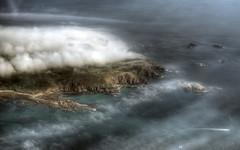 Foggy Alderney (neilalderney123) Tags: weather fog olympus alderney trislander 2016neilhoward