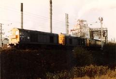 20210 20040 47097 Warrington Arpley 28th October 1986 (Skelton80s) Tags: warrington october 1986 28th 20040 20210 47097 arpley
