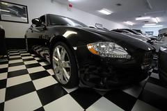 Quattroporte (Joe Folino ( LoopRunner )) Tags: black cars car sedan super exotic luxury v8 maserati quattroporte