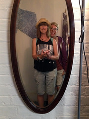 Selfie Sunday (Jainbow) Tags: selfie sunday charity shop thrift debra elmgrove southsea portsmouth mirror reflection jj me hat jainbow