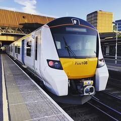 Thameslink 700108 Gatwick Airport 21-06-2016 (Elliott DW) Tags: airport siemens class 700 gatwick thameslink 700108