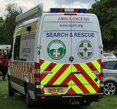 Staffordshire search and rescue-Mercedes Benz sprinter-DK10 DFC (Sierraoscar595) Tags: west search team police ambulance mercedesbenz service emergency staffordshire midlands 640 sprinter dfc recue wmas dk10 ssart dk10dfc