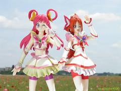 (tsukasatan696) Tags: toy outdoor figure saitama konosu toyphotography precure curedream yesprecure5 curerouge  outdoortoyphotography  poppyhappysquare