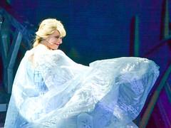 Elsa's Necessary Cape Flip (chipanddully) Tags: frozen disney dca elsa californiaadventure letitgo hyperiontheater queenelsa liveatthehyperion