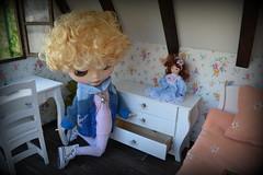 Diorama 2 for sale! (pe.kalina) Tags: miniature doll furniture handmade barbie poppy blythe parker diorama dollhouse momoko roombox fashionroyalty pukifee